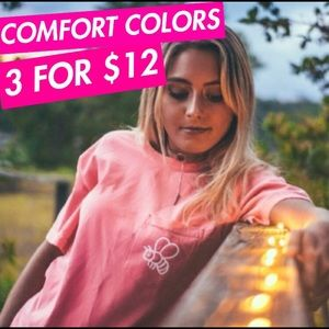 3 FOR $12 Comfort Colors Save The Bees Tees 🐝🌻